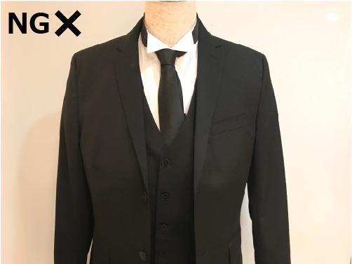 結婚式で着用NGのネクタイ